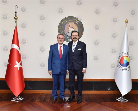 The President Murzioğlu Became Vice-president of TOBB