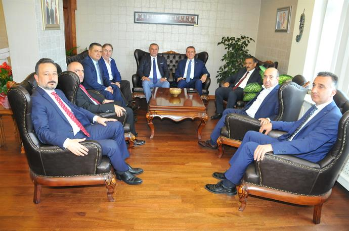 The Governor Mr. Kaymak Visited Samsun CCI