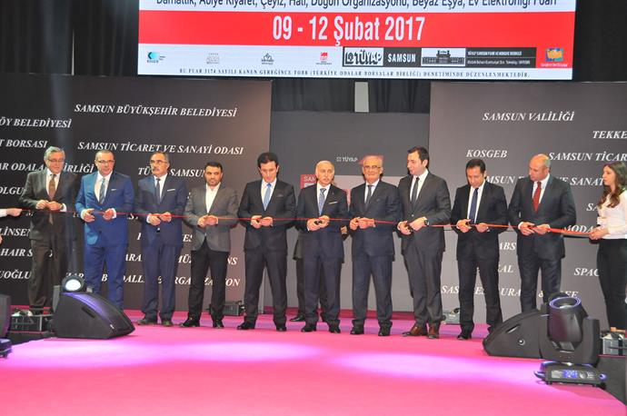 "Magnificient Opening of the ""Samsun Marriage 2017"" Fair"